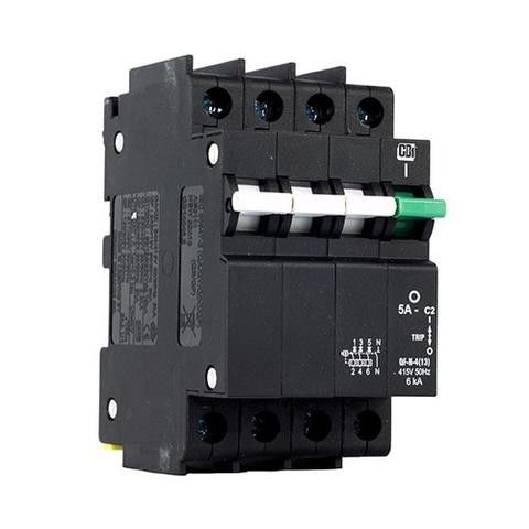 4p 25A Basic Electrical Components , Intelligent Molded Case Circuit Breaker